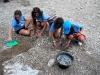 Gli scavi di Pehuen Co visitati da Darwin